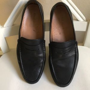 Cole Haan penny loafers black